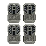 Stealth Cam G34 Pro 12 MP 4 Resolution HD Video 80' Range Game Camera (4 Pack)