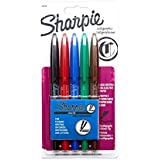 Sanford Sharpie Calligraphic Chisel Tip Water Based Markers (40150SH)