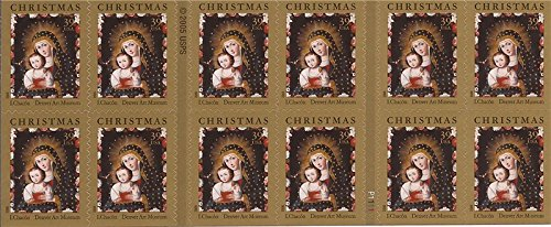 (US Stamp 2006 Christmas Madonna Booklet Pane of 20 Stamps #4100 )