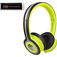Monster MH ISRT FRE ON GR BT WW iSport Freedom Wireless Bluetooth On-Ear Headphones in Green with Mobile Charger