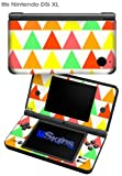 Triangles Citrus - Decal Style Skin fits Nintendo DSi XL (DSi SOLD SEPARATELY)