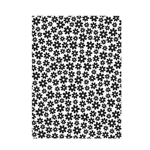 Darice Small Daisy Background, Embossing Folder