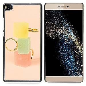 Stuss Case / Funda Carcasa protectora - Marmalade Pastel Colores Moda - Huawei Ascend P8 (Not for P8 Lite)