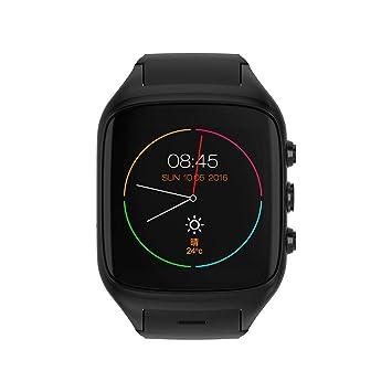 SUNROAD Bluetooth Smart Android 3G Reloj del TeléFono Inteligente Internet WiFi Tarjeta De Prueba De Ritmo CardíAco Reloj De CáMara Deportes Al Aire Libre ...