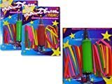 BALLOONS 30 TWISTY W/AIR PUMP , Case of 96