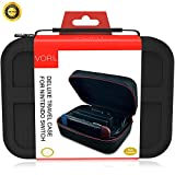 Carry Case for Nintendo Switch - VORI Protective Hard Portable EVA Travel Carrying Case Shell Pouch for Nintendo Switch Console & Accessories