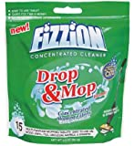 Fizzion Drop and Mop Multi-purpose Concentrated Co2 Floor Cleaning Solution - Works Great with All Spray Mop Cleaners