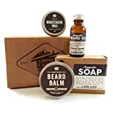 Core Beard Kit - Honeysuckle - All Natural, Hand Crafted in USA