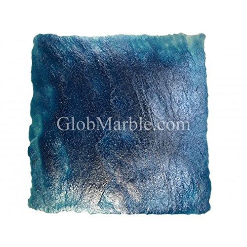 24Inch by 24Inch Seamless Concrete Texturing Skin Slate Pattern GlobMarble Skin Mat SKM 2200