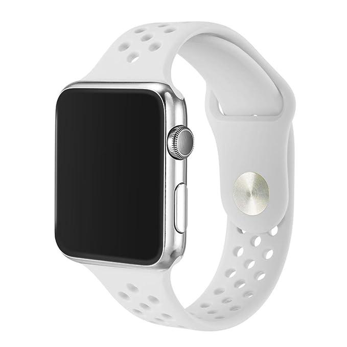 1 opinioni per 38mm/42mm Morbida Fascia Di Orologio Del Silicone Per Apple Watch, Kobwa