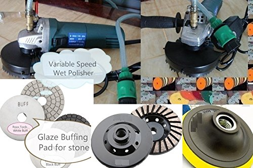 Discount Travertine Tiles - Wet Polisher Grinder Diamond Polishing Pad 28 Pieces 2 Grinding Cup Granite Marble Concrete Polishing Travertine quartz grinding floor polishing Discount sander counter top polishing glaze buff