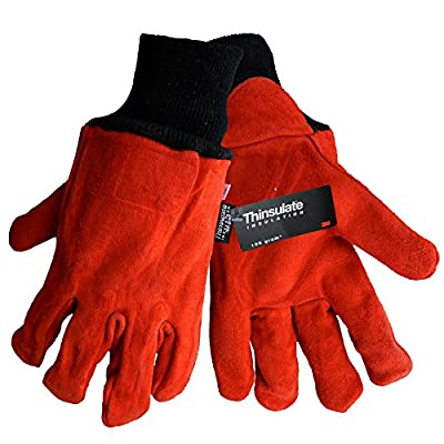 Global Glove 624 Freezer Glove with Knit Wrist Cuff, Work, Large (Case of 144)