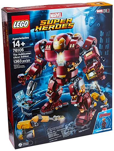 LEGO Marvel Super Heroes Avengers: Infinity War The Hulkbuster: Ultron Edition 76105 Building Kit (1363 - 2 War Lego
