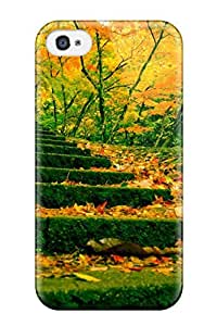 Defender Case For Iphone 4/4s, Autumn Pattern