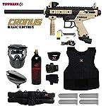 MAddog Tippmann Cronus Tactical Starter Protective CO2 Paintball Gun Package