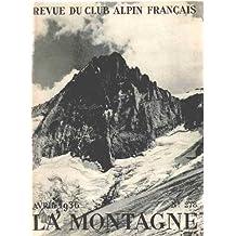 Club alpin français -la montagne n° 278