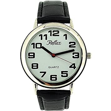 Reflex - Ladies Bold Jumbo/Large Easy Read Watch-38Cm Face-20Cm Strap