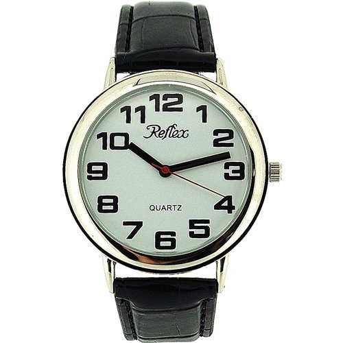 Amazon.com: Reflex - Ladies Bold Jumbo/Large Easy Read Watch-38Cm Face-20Cm Strap (106002): Health & Personal Care