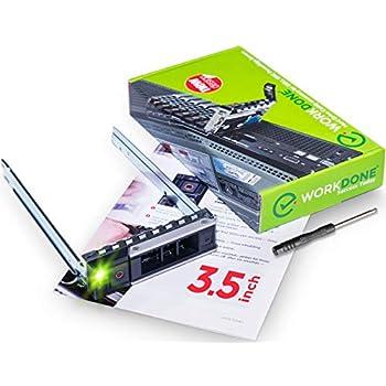 """2PCS 3.5/"""" Dell X7K8W Gen 14 HDD Tray Caddy for R740xd R440 T440 R540 R940 R640"""