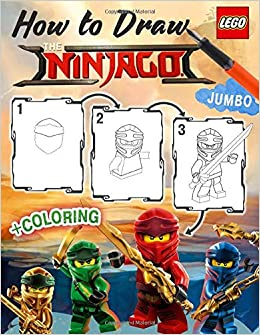 Lego Ninjago How to Draw: How to Draw Ninja, Villains, 25 ...