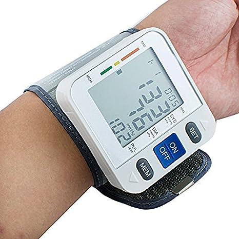 Denshine - Tensiómetro digital LCD de montarse sobre el muñecas memoria 90: Amazon.es: Salud y cuidado personal