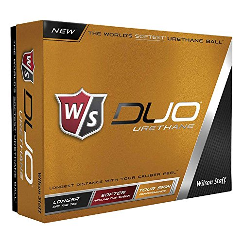 Wilson Staff Duo Urethane Golf Ball (12-Pack)
