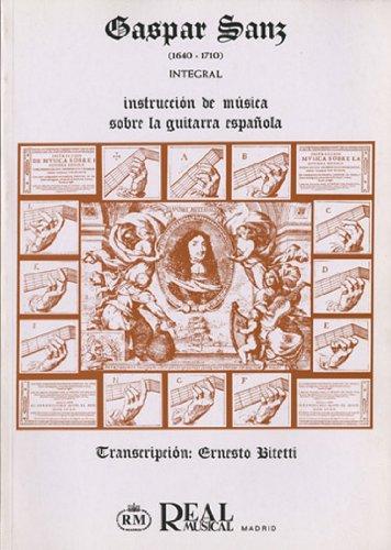 SANZ G. - Instruccion de Musica sobre la Guitarra Española para ...