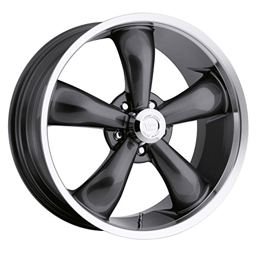 Vision 142 Legend 5 Gunmetal Wheel with Machined Lip (18x9.5