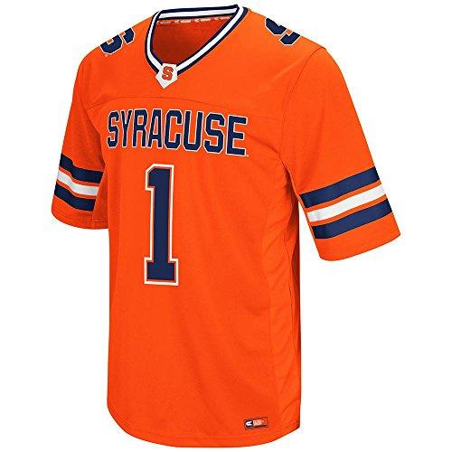 Mens NCAA Syracuse Orange Hail Mary II Football Fashion Jersey - L