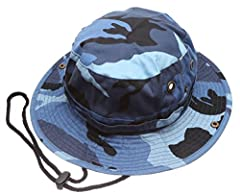 This unique Hat was created for all your outdoor adventures, bringing you from Sweaty and annoyed to cool and stylish.              This hat has an adjustable Drawstring, by the chin, for a tailor made fit, especially on Windy...