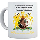 Prince William and Kate Middleton WEDDING Commemorative Coffee Mug Cup #4- 29th April 2012