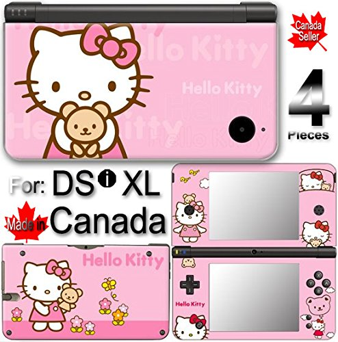 Hello Kitty Classic Edition VINYL SKIN COVER STICKER DECAL #1 for DSi XL -