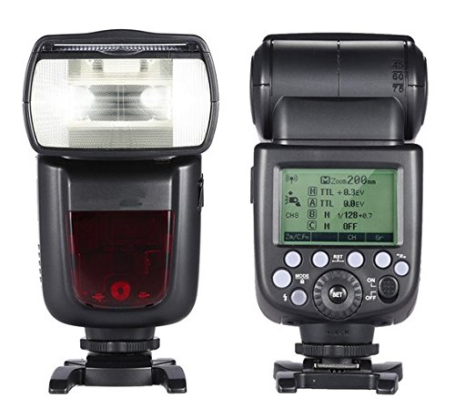 GOWE i-TTL 1/8000S HSS Master Slave GN60 Speedlite Flash Built-in 2.4G Wireless X System for Nikon DSLR Camera