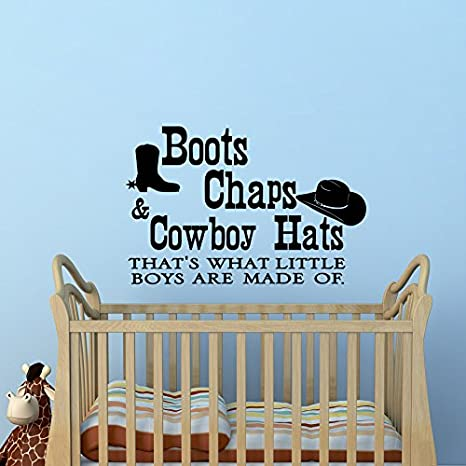Amazon.com: Boots Chaps And Cowboy Hats Thats What Little ...