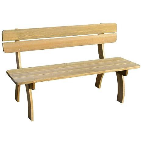 Panchina In Legno Da Giardino.Vidaxl Legno Di Pino Panchina Da Giardino Classica Resistente Panca