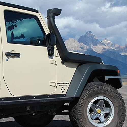 AUXMART Air Ram Intake System Snorkel Kit for 2007-2017 Jeep Wrangler JK 4x4 Off Road