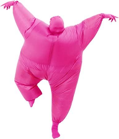 RHYTHMARTS Inflatable Costume Full Body Suit Halloween Christmas Costumes Fancy Dress Adult