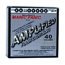 MANIC PANIC Flashlightening - Complete Maximum Hair Lightening Kit - Complete Bleach Kit