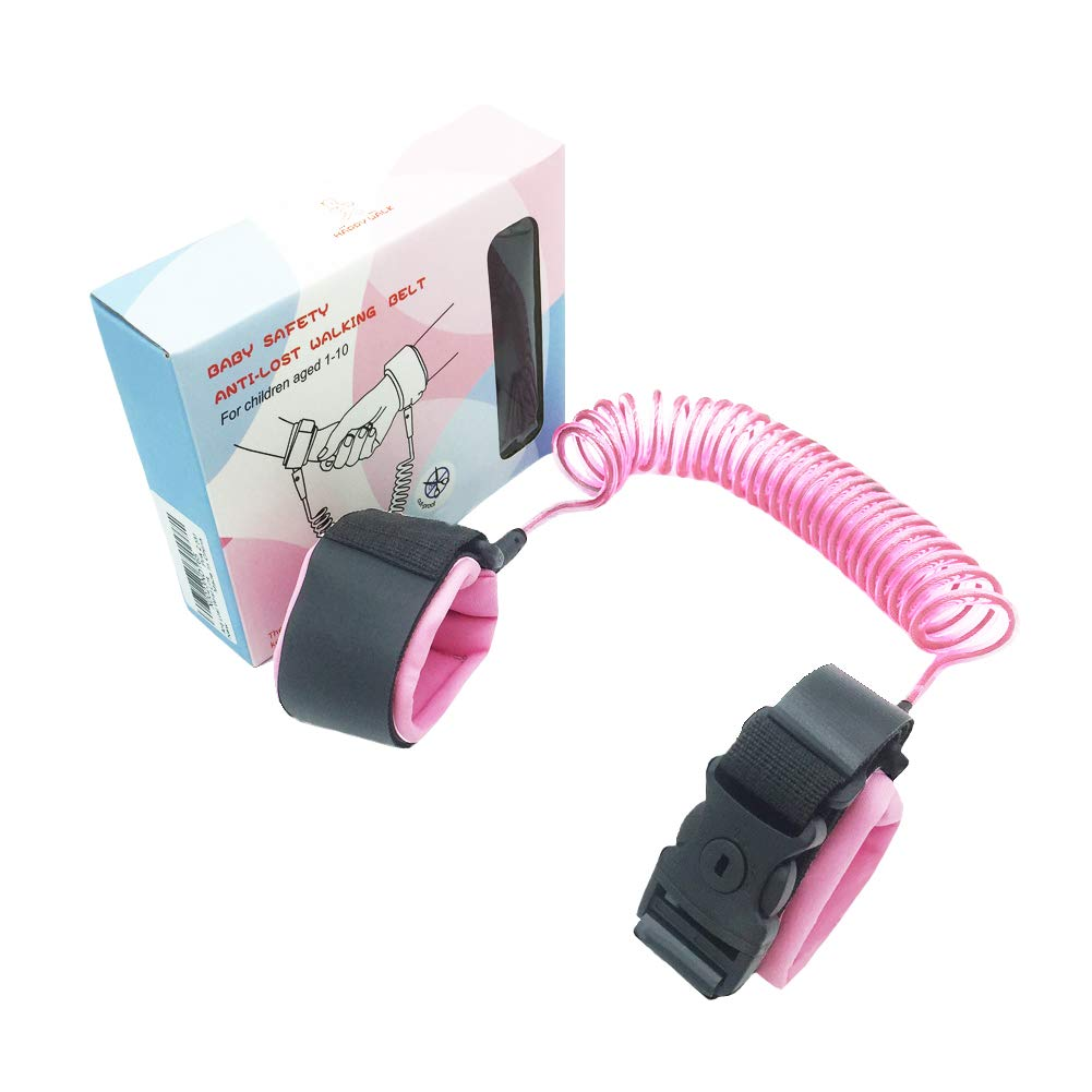 Blue 2M Anti Lost Wrist Link with Lock for Toddlers Babies and Kids