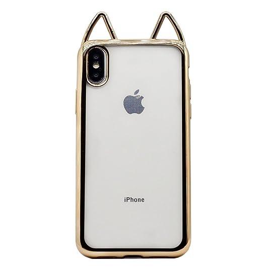 aad0286713 Amazon.com: iPhone X Ear Case,iPhone 10 Case,Jesiya Super Cute 3D ...
