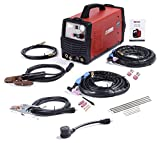 AMICO POWER CTS200 CTS-200 50A Plasma Cutter, 3-in-1 Combo Welding,, Red