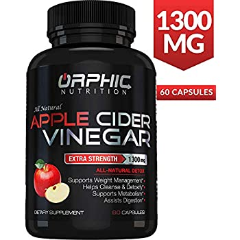 Amazon.com: Extra Strength 1300mg Apple Cider Vinegar