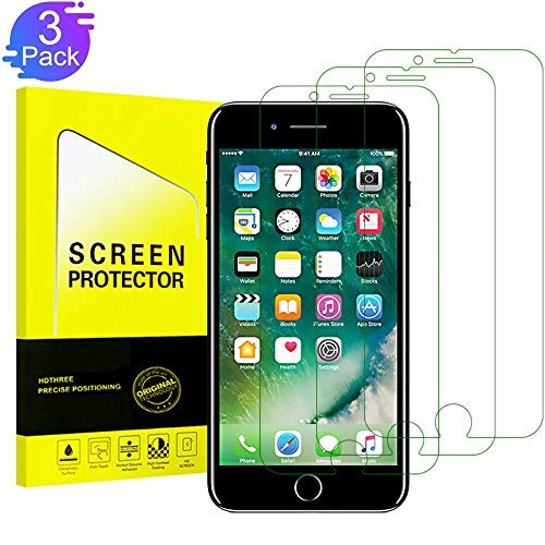 (iPhone 8, 7, 6S, 6 Screen Protector Glass,TEIROO Tempered Glass Screen Protector Compatible iPhone 8, 7, iPhone 6S, iPhone 6 [4.7