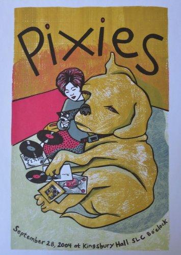 Pixies - Live at Kingsbury Hall - Tour Advertising Poster - 10x14 - Salt Lake City 2004