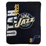 """NBA Lightweight Fleece Blanket (50"""" x 60"""") (Utah Jazz)"""