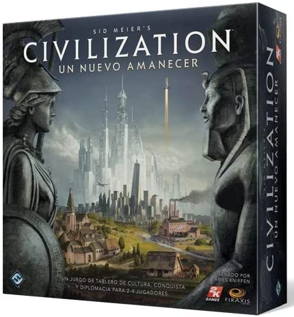 Fantasy Flight Games- Civilization Amanecer - Español, Color (CND01ES)