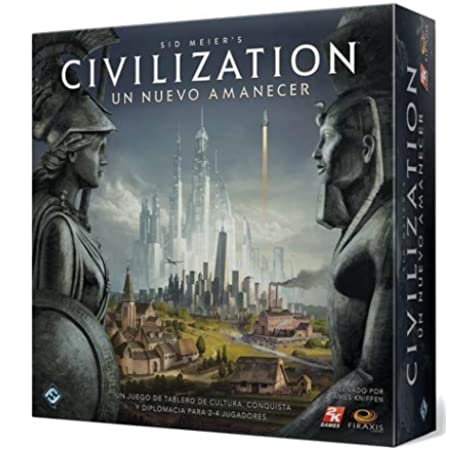 Fantasy Flight Games- Civilization Amanecer - Español, Color (CND01ES): Amazon.es: Juguetes y juegos
