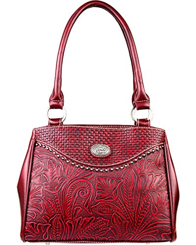 montana-west-womens-trinity-ranch-tooled-design-concealed-handgun-collection-red-one-size