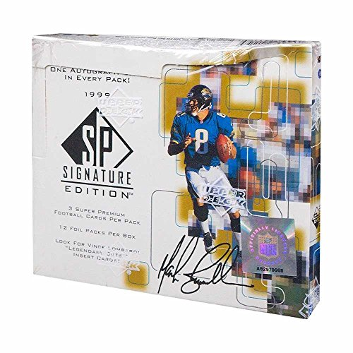 1999 Upper Deck SP Signature Edition Football Hobby (1999 Sp Signature Edition)