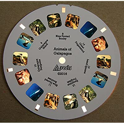 Animals of Galapagos - Classic ViewMaster - 2 Reel Set - NEW: Toys & Games